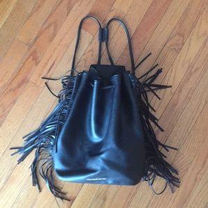 Victoria's Secret Large Black backpack purse tote